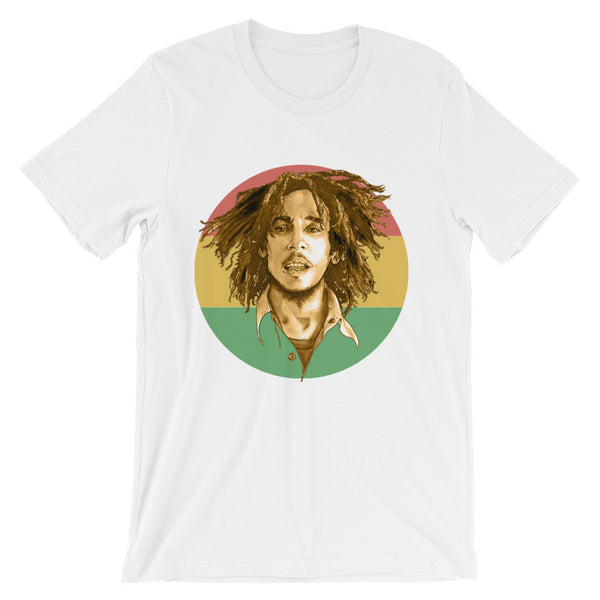 BM Unisex Short Sleeve T-Shirt Illustrated by Robert Bowen - Robert Bowen Tees