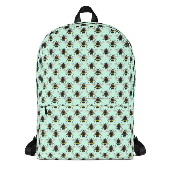 Unisex Bees Backpack Textiles by Robert Bowen - Robert Bowen Tees
