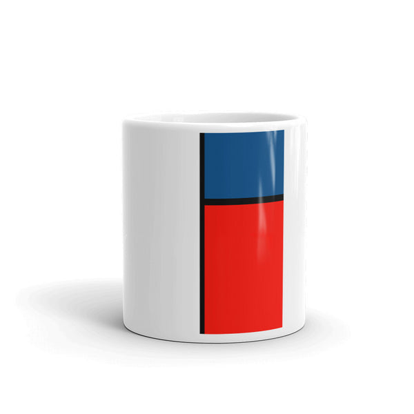 Block Colours Three Mug by Robert Bowen - Robert Bowen Tees
