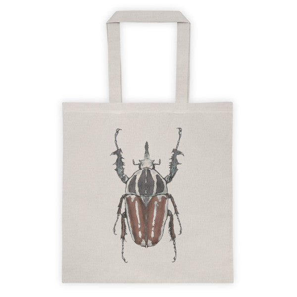 Brown Beetle by Robert Bowen Orginal Tote Bag - Robert Bowen Tees
