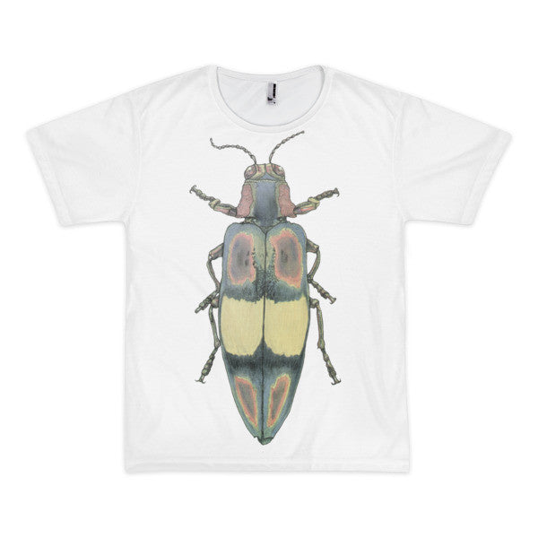 Coloured Beetle by Robert Bowen Short Sleeve Men's T-Shirt (unisex) - Robert Bowen Tees