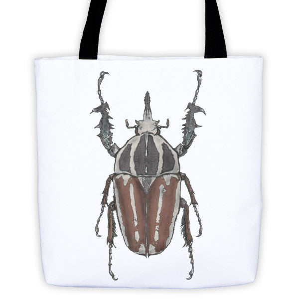 Brown Beetle by Robert Bowen Tote Bag - Robert Bowen Tees