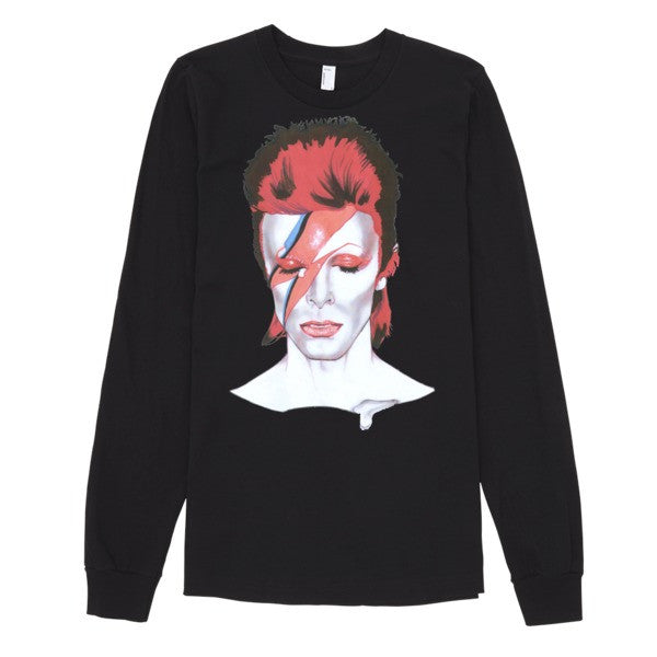 David Bowie The Legend Long Sleeve T-Shirt (unisex) - Robert Bowen Tees