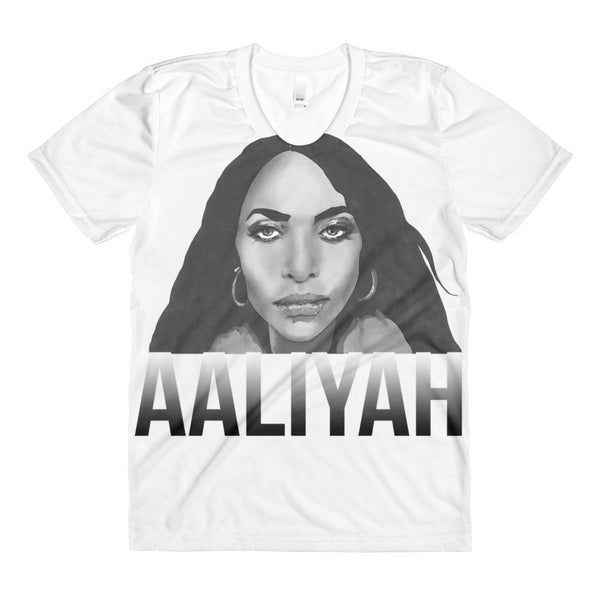 Aal Sublimation Women's Crew Neck T-Shirt Illustrated by Robert Bowen - Robert Bowen Tees