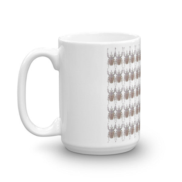 Brown Beetles Print Mug - Robert Bowen Tees