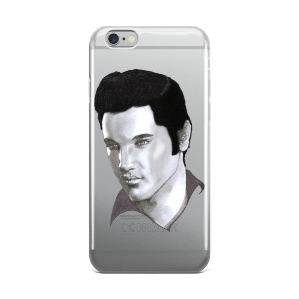 Elvis Presley by Robert Bowen iPhone case - Robert Bowen Tees