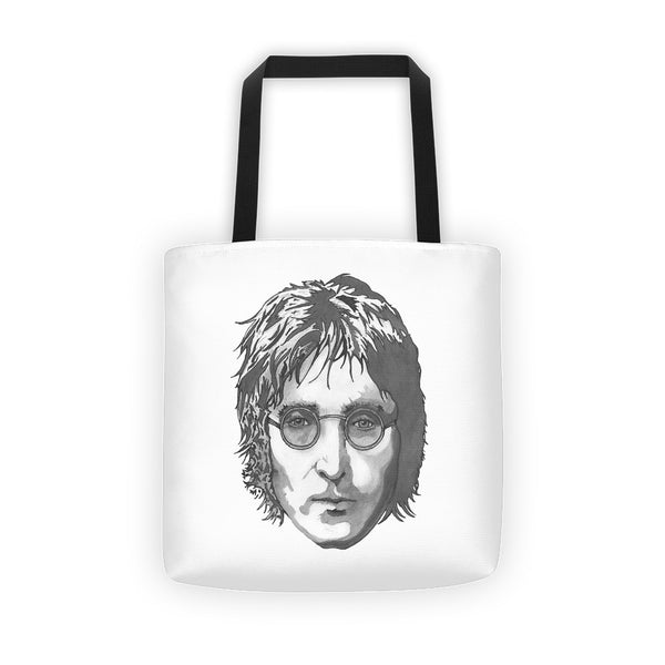 JL Tote Bag Illustrated by Robert Bowen - Robert Bowen Tees