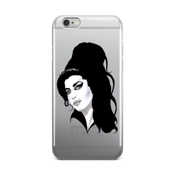 Amy Winehouse by Robert Bowen iPhone case - Robert Bowen Tees