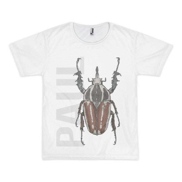 Beetle P Short Sleeve Men's T-Shirt (unisex) - Robert Bowen Tees