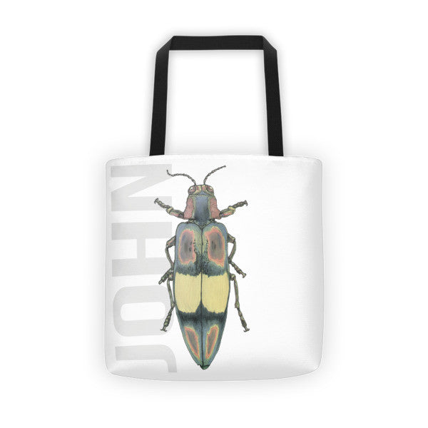Beetle J Tote Bag - Robert Bowen Tees