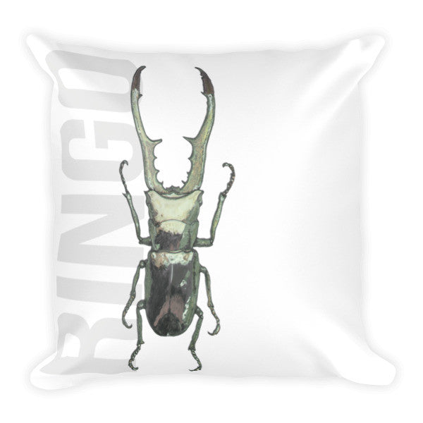 Beetle R Cushion - Robert Bowen Tees