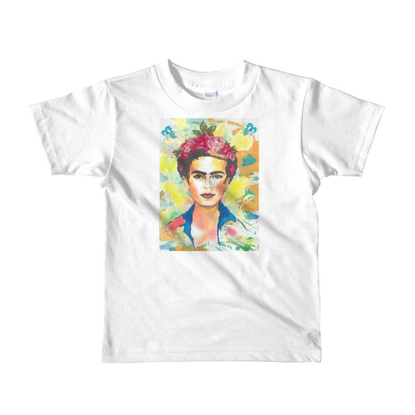 Frida Kahlo Short Sleeve Kids T-Shirt by Robert Bowen - Robert Bowen Tees