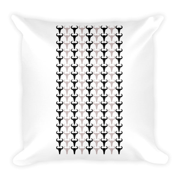 Rams & Checks Cushion - Robert Bowen Tees