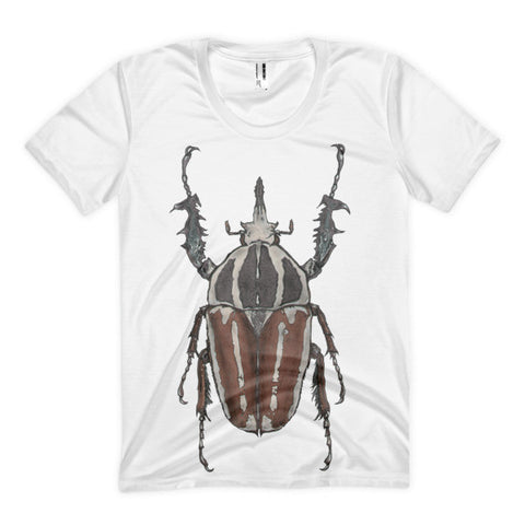 Brown Beetle by Robert Bowen Women's Sublimation T-Shirt - Robert Bowen Tees