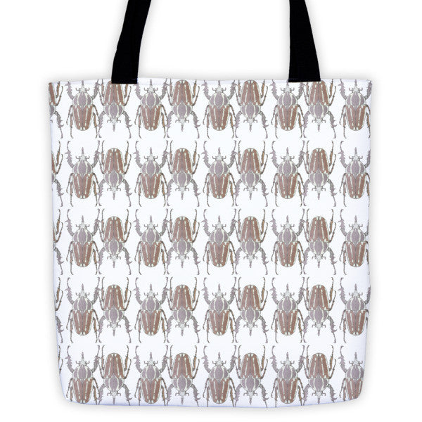 Brown Beetles Opposites Tote Bag - Robert Bowen Tees
