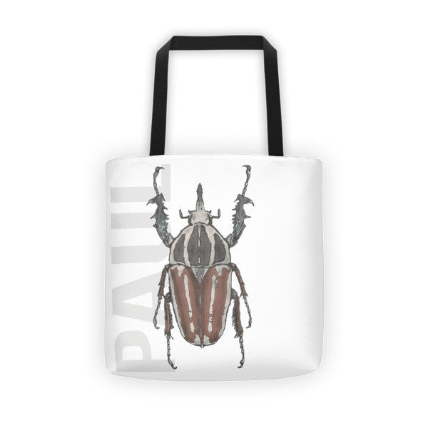Beetle P Tote Bag - Robert Bowen Tees