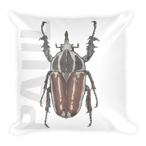 Beetle P Cushion - Robert Bowen Tees