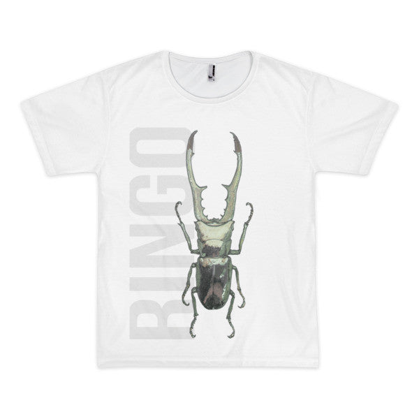 Beetle R Short Sleeve Men's T-Shirt (unisex) - Robert Bowen Tees