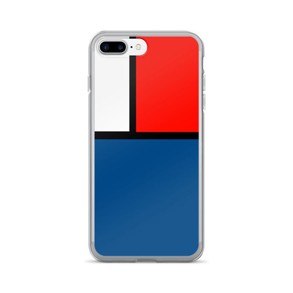Block Colours Three  iPhone 7/7 Plus Case by Robert Bowen - Robert Bowen Tees