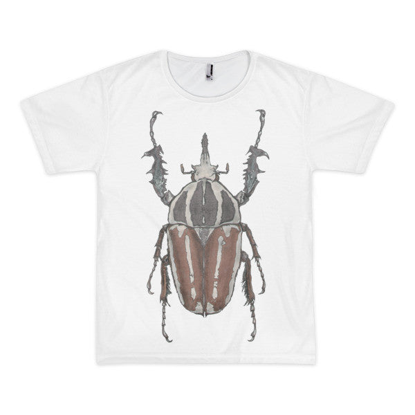Brown Beetle by Robert Bowen Short Sleeve Men's T-Shirt (unisex) - Robert Bowen Tees