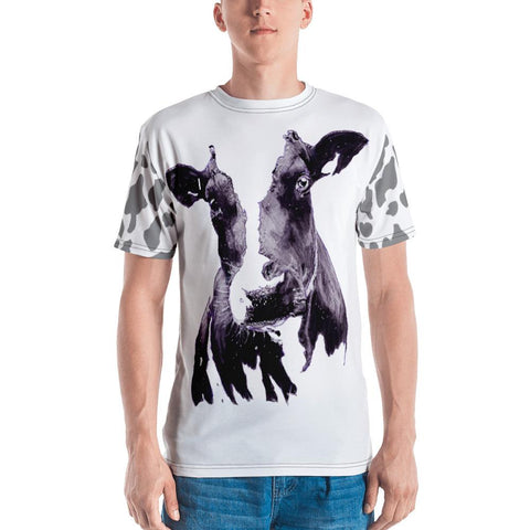 Mad Cow Illustrated by Robert Bowen Men's T-shirt