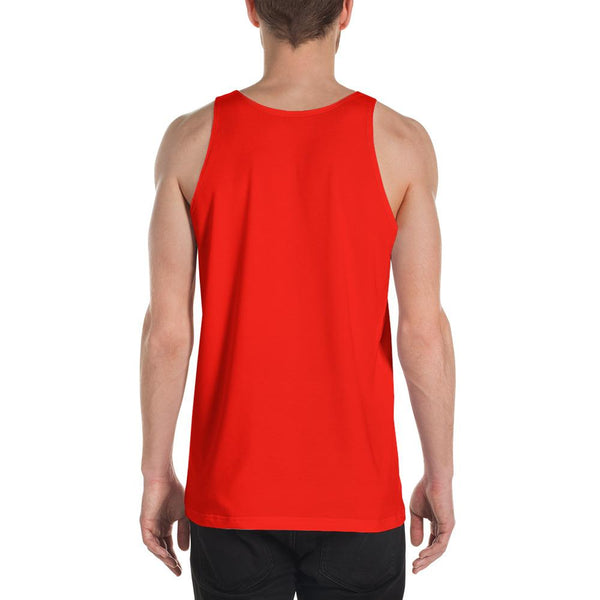 Block Colours Three Unisex Tank Top by Robert Bowen - Robert Bowen Tees