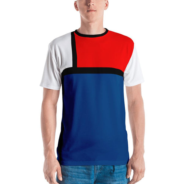 Block Colours Men's T-shirt by Robert Bowen - Robert Bowen Tees