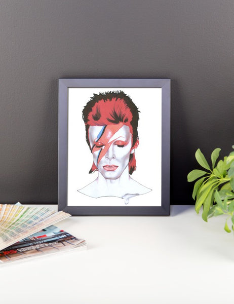 David Bowie Framed Poster - Robert Bowen Tees