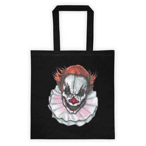 Scary Clown by Robert Bowen Tote Bag - Robert Bowen Tees - 1