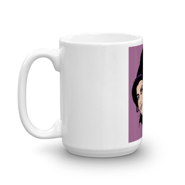 Amy Winehouse Pop Art by Robert Bowen Mug - Robert Bowen Tees