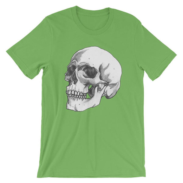 3/4 Skull Short-Sleeve Unisex T-Shirt by Robert Bowen - Robert Bowen Tees
