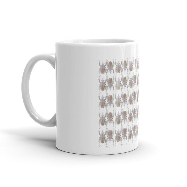 Brown Beetles Opposites Mug - Robert Bowen Tees