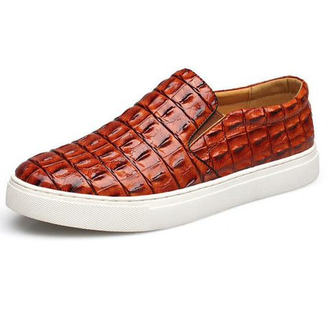 Men's Hand-Made Leather Loafer - Robert Bowen Tees