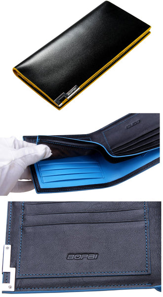 Men's Cowhide Leather Wallet - Robert Bowen Tees