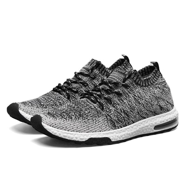 Men Breathable Mesh Trainers with Rib Binding - Robert Bowen Tees