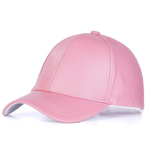 Unisex PU Leather Baseball Cap - Robert Bowen Tees