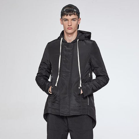 Men Designer's New Style Hooded Parka - Robert Bowen Tees