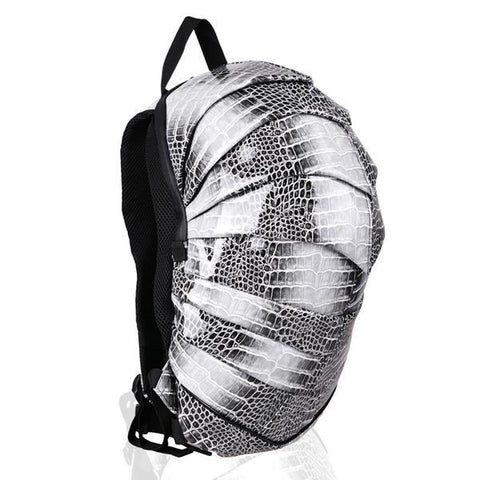 Unisex Snake-Skin Effect Layered Backpack - Robert Bowen Tees