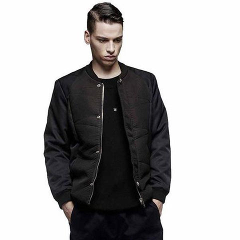 Men Panelled Side Jacket - Robert Bowen Tees