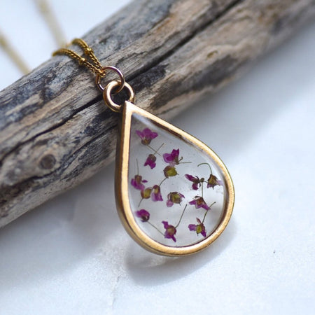 Alyssum Flower Necklace