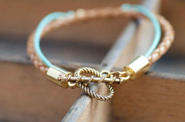 Cat Leather Bracelet
