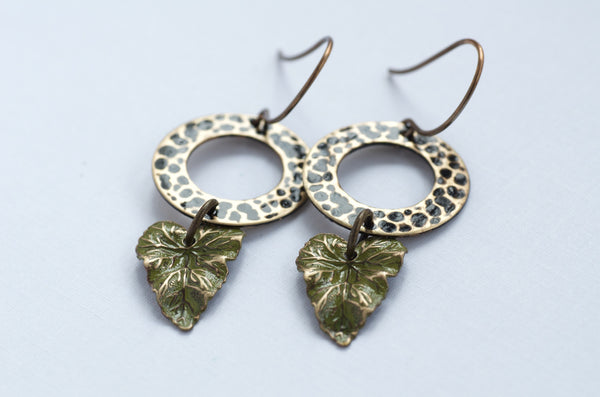 🆕 Leaf Earrings
