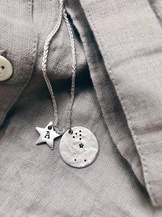 Silver Zodiac Necklace
