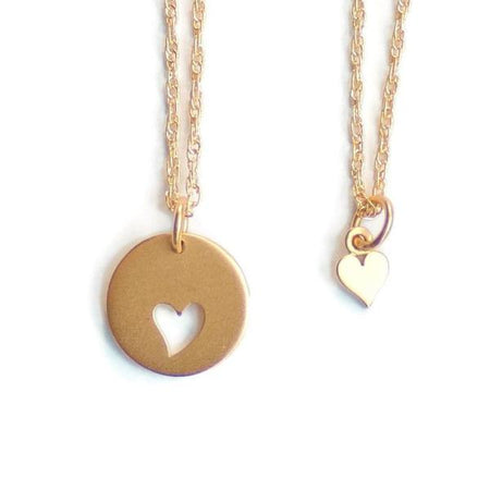 Mother Daughter Necklace set by Olive Bella.  Shop now: https://olivebella.com