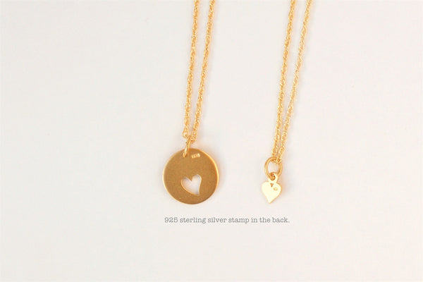 Mother Daughter Necklace set.