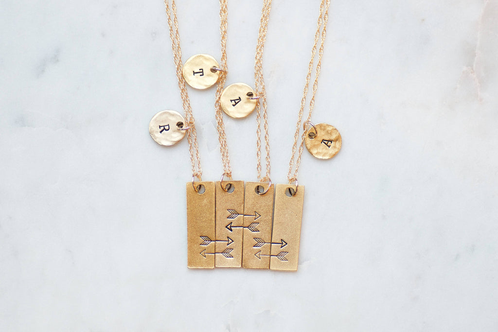 Best Friend Necklaces for 4
