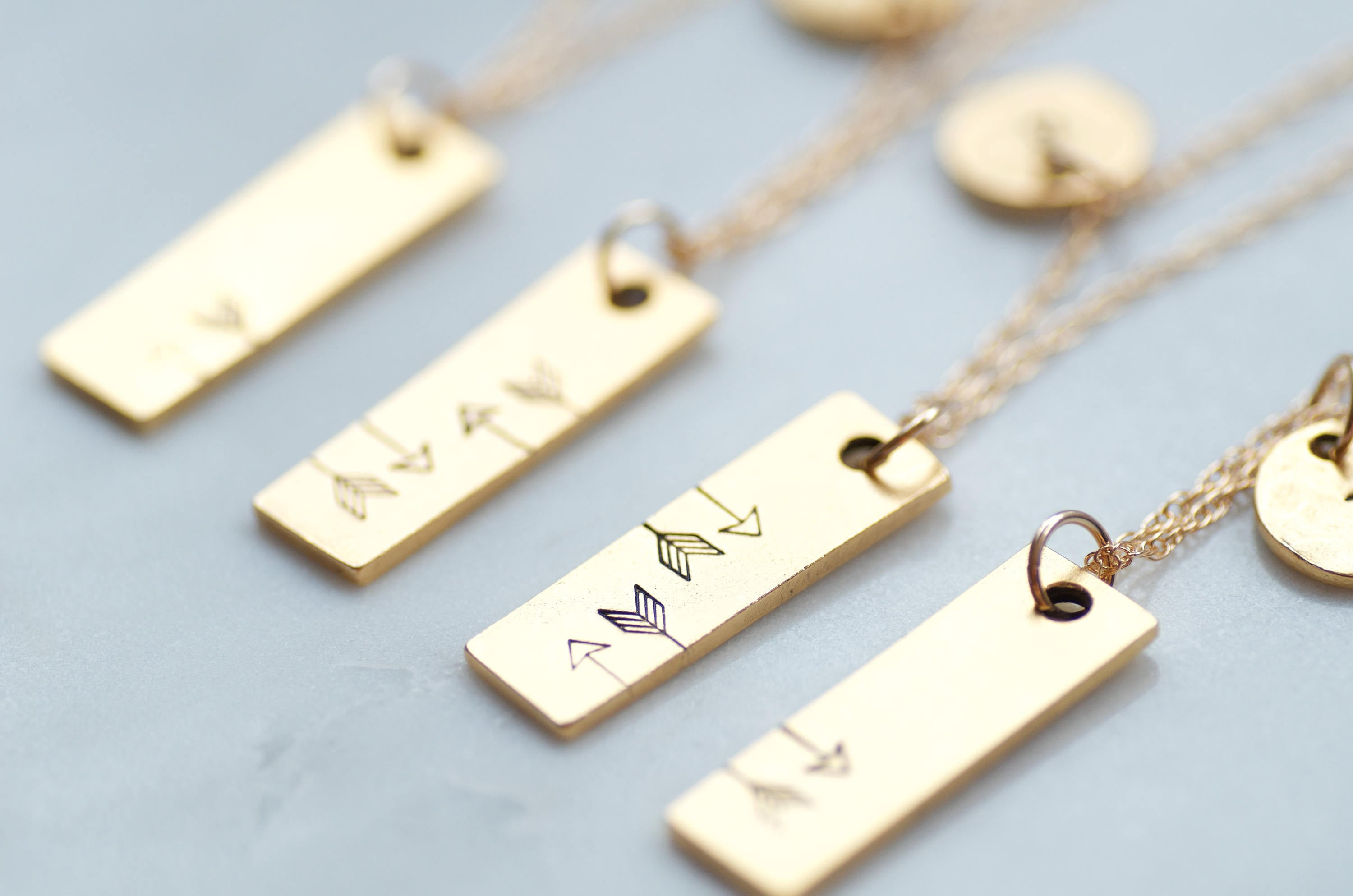 Friendship Necklaces for 4 by Olive Bella.  Shop now: https://olivebella.com