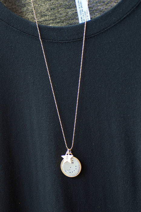 Celestial Necklace by Olive Bella.  Shop now: https://olivebella.com