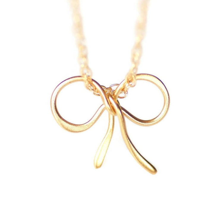Tie The Knot Necklace by Olive Bella.  Shop now: https://olivebella.com