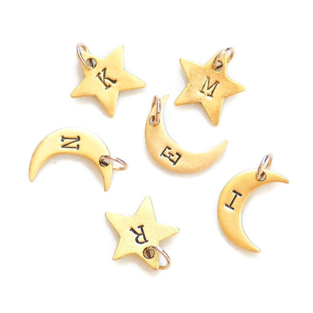 Add-on star and moon charms